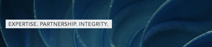 Expertise. Partnership. Integrity.